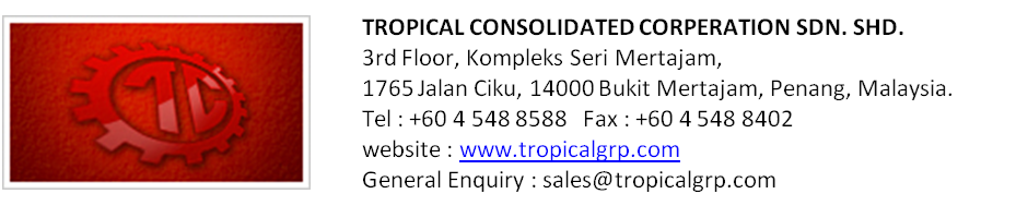 TROPICAL CONSOLIDATED CORPERATION SDN. SHD.